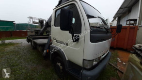 Camion Nissan Cabstar crane Manotti 18m nacelle occasion