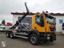 Camion Iveco Trakker AD380T45 6x4 Abrollkipper Winterdienst multibenne occasion