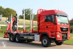 Камион MAN TGS TGS 33.510 6X4 BL/ Euro6d EPSILON M 12Z камион за превоз на трупи втора употреба