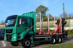 MAN timber truck TGS 33.510 6X6 BB EPSILON M 12Z Euro6d