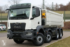 Lastbil MAN TGS 35.430 8x4 NEUES MODEL TG3/ Kipper / EURO 6 flak begagnad