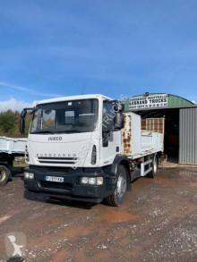 Iveco heavy equipment transport truck Eurocargo 160 E 22 tector