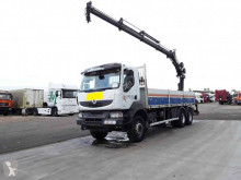 Camion Renault Kerax 410 plateau ridelles occasion