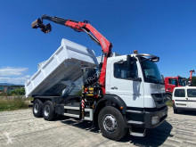 Mercedes Axor 2633 truck used two-way side tipper