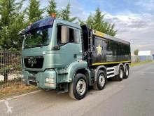 Camion benne MAN TGS TGS 41.400 8X4 BB EEV KIPPER P. Ruizeveld