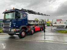 Scania LKW Absetzkipper G440 8X2 Container Kran HIAB 288 HIPRO