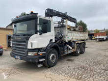 Scania P 380 truck used two-way side tipper