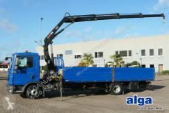 Camion MAN 12.180 TGL BL 4x2, Kran Hiab 099E-Buo 2, Klima cassone fisso usato