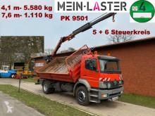 Camion Mercedes 1828 1828 PK 9501 7,6 m- 1.1T 5+6 Steuerkreis bi-benne occasion