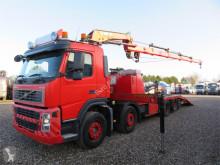 Камион превоз на строителна техника Hiab Volvo FM9-340 8x2 220 C-4 Autohjælp