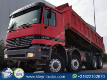 Mercedes three-way side tipper truck Actros 3240