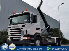 Scania G 400 truck used hook arm system