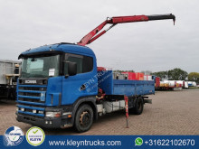 Scania R124 truck used flatbed