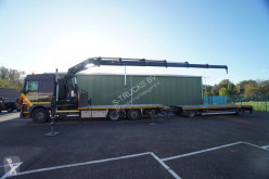 DAF XF105 trailer truck used flatbed