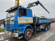 Scania 142 truck used three-way side tipper