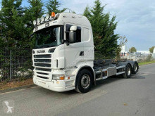 Scania skip truck R500 LB 6X2 4HNB Container N.C.H. Hydraulik Syst