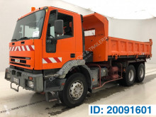 Iveco two-way side tipper truck Eurotrakker
