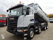 Camion tri-benne Scania G450 Dreiseitenkipper MEILLER Bordmatik 8x4 BB