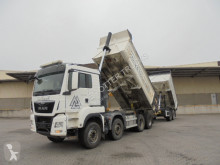 MAN trailer truck used tipper