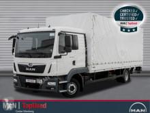 MAN tarp truck TGL 12.220 4X2 BL AHK LBW Pritsche Plane