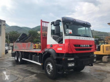 Iveco Trakker 260 T 36 truck used flatbed