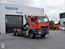 MAN hook arm system truck TGS 33.320