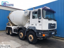 Camión hormigón cuba / Mezclador MAN 35 364 9 M3, L&T concrete / Beton mixer, Steel suspension, Manual