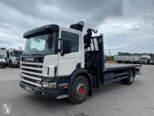 Camião Scania D 94D230 estrado / caixa aberta estandar usado