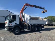 Iveco two-way side tipper truck Eurotrakker 410