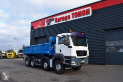 MAN TGS 32.400 truck used two-way side tipper