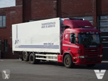 Scania P124 truck used mono temperature refrigerated