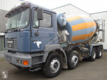 MAN 32.414 , mixer , , spring suspension truck used concrete mixer