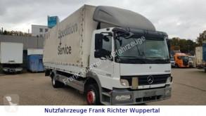 Mercedes LKW Pritsche und Plane 1218 L, Klima, AT Motor bei 400TKM,Guter Zustand