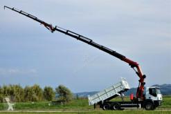 Iveco tipper truck Trakker 350 KIPPER 4,90+KRAN+JIB+FUNK*6x4