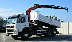 Volvo tipper truck FM 380 Kipper 5,20m+Kran/FUNK*6x4!
