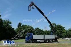 Vrachtwagen Volvo FMX 380 6x2, Kran Hian 211DL-3 Pro, Lenk-Lift tweedehands platte bak boorden