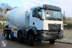Camion MAN TGS TGS 41430 8X4 NEUES MODEL TG3 MTP 10m³ béton toupie / Malaxeur occasion