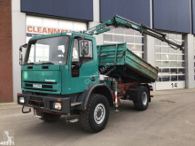 Camion Iveco ML 135E Atlas 5 ton/meter laadkraan tri-benne occasion