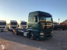 MAN TGX 26.360 truck used heavy equipment transport