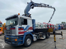 MAN tractor unit 28.414 MANUAL + COPMA C5030/6 MET FLYJIB