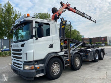 Scania flatbed truck G 400