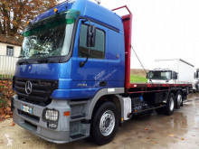 Mercedes straw carrier flatbed truck Actros 2544 L