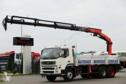 Camion platformă Volvo FM 340 / 6X4 / BOX-6,4 M + CRANE PALFINGER 20002