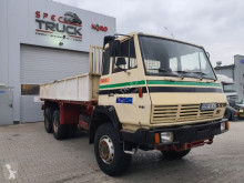 Steyr flatbed truck 1491-MAN, Full Steel 6x6, Manual Pump