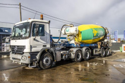 Mercedes semi-trailer used concrete mixer concrete