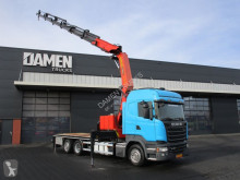 Scania flatbed truck R 450