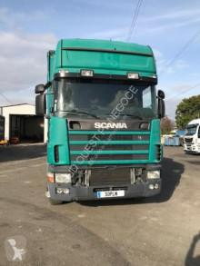Scania tautliner truck R 124