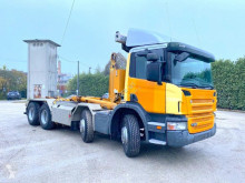 Scania hook arm system truck P380 8X4 SCARRABILE BALESTRATO ANTERIORE