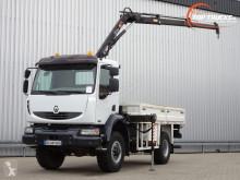 Vrachtwagen platte bak Renault Midlum 220 DCI