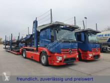 Vrachtwagen met aanhanger Mercedes Actros *ACTROS 1843* RETARDER*ACC*XENON*LOHR AUFBAU* 2x tweedehands autotransporter
